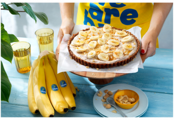 Chiquita is offering Thanksgiving recipes, including Easy Chiquita Banana Thanksgiving Pie.