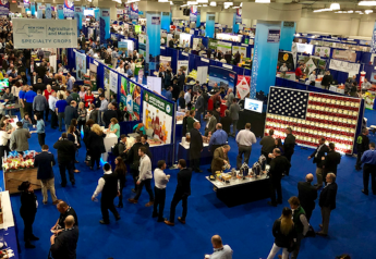 The New York Produce Show's expo floor was packed in 2018.