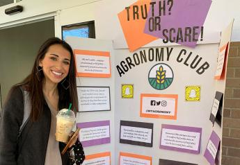 "West Texas A&M University Agronomy Club's ""Scary Food Truths"" campus event."