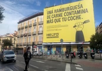 Huera billboard in Madrid.