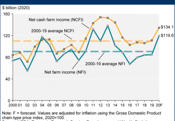 If realized, 2020 would deliver the highest net farm income the U.S. agriculture sector has seen since 2013.