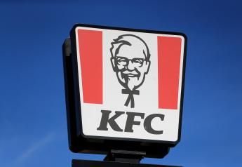PA via Reuters A view of the sign at a KFC restaurant and drive-thru