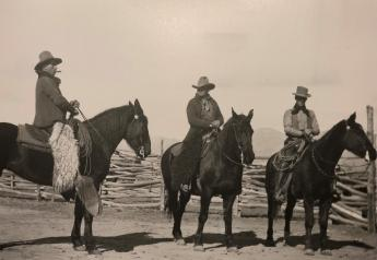 Miller and Lux cowboys, Cuyama, Calif., circa. 1908