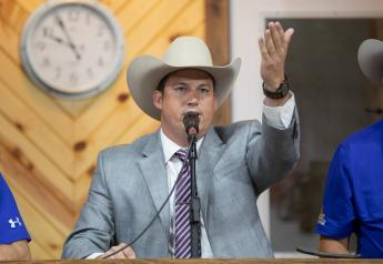 At the 2018 World Livestock Auctioneer Championship in Bloomington, Wis., Jared Miller became the Livestock Marketing Association's 2018 World Livestock Auctioneer Champion.