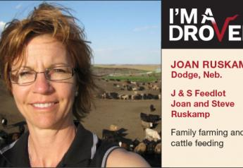 """""""I see China as the emerging market similar to what Japan was 20 years ago,"""" says Joan Ruskamp, a Nebraska producer who completed a term as chair of the Cattlemen's Beef Board in February."""