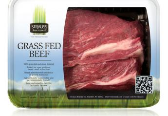 Strauss Free Raised beef