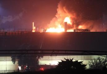 Tyson Foods plant fire on August 9, 2019