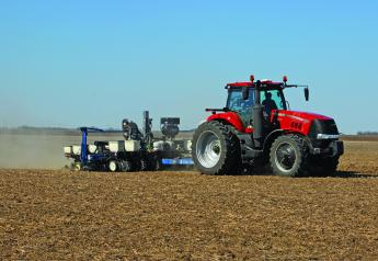 Starter fertilizer applications in spring can help with seed crop emergence and early growth.