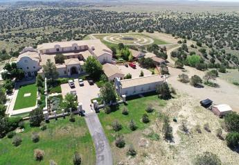 Jeffrey Epstein's New Mexico ranch home.