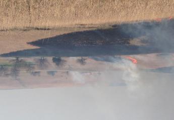 Spring burning Kansas Flint Hills