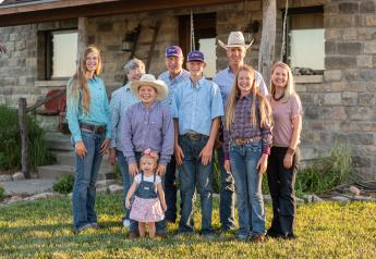 The Perrier family, Dalebanks Angus, Eureka, Kansas