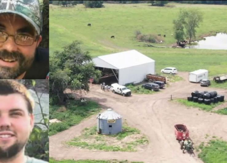 Officials searched this Missouri farm for Nick and Justin Diemel last July.