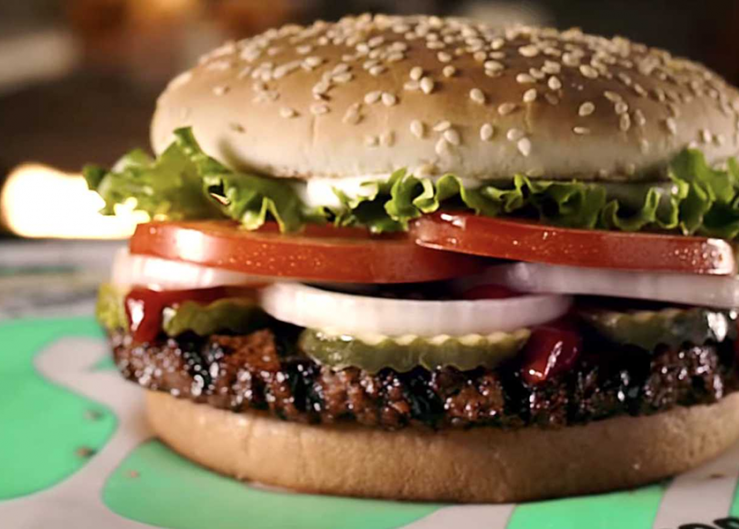 The Impossible Whopper, which is sold at Burger King.