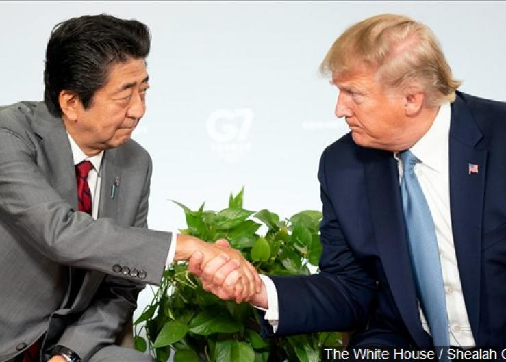 The U.S. and Japan reach a trade deal framework.