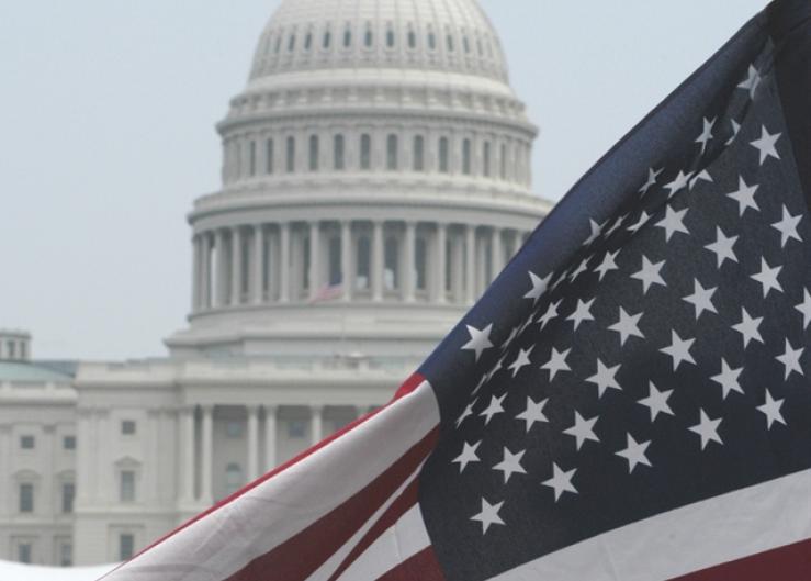 US_flag_capitol