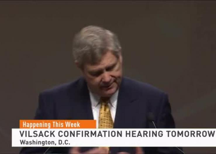 President Biden's pick for Ag Secretary has a confirmation hearing set for Tuesday. During that time, Tom Vilsack could detail future plans for utilizing the CCC for climate initiatives and COVID recovery.