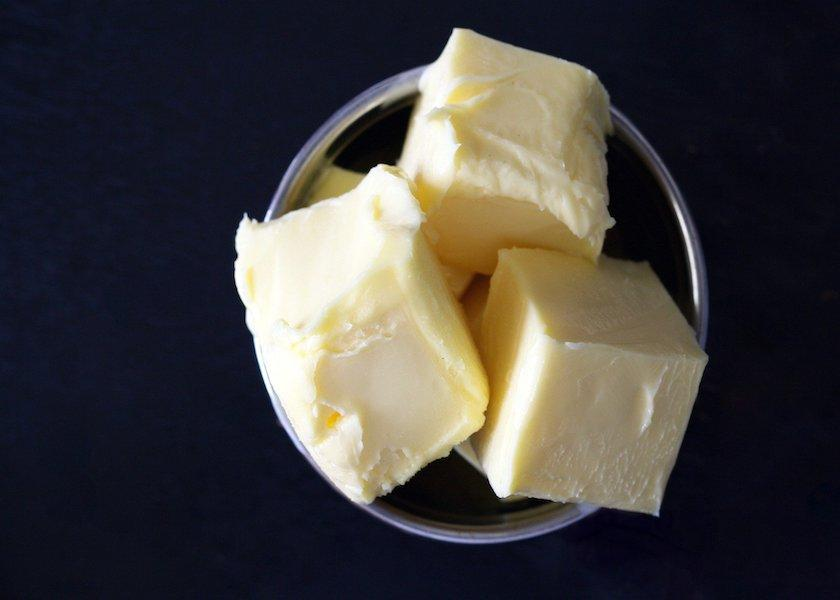 According to the U.S. Department of Agriculture, butter production has risen 6% over the first nine months of the year
