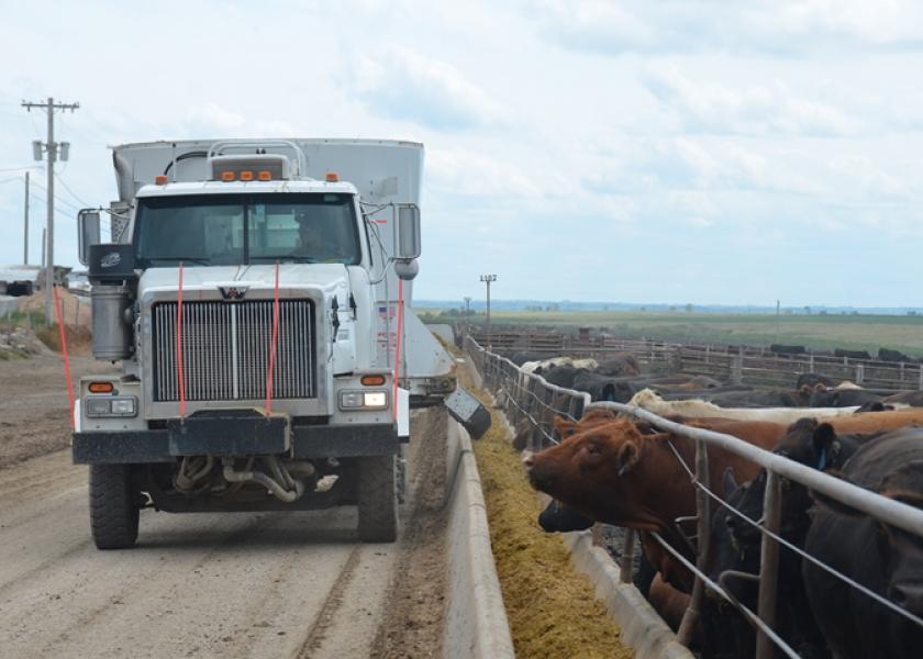 BT Feedlot Feed Truck