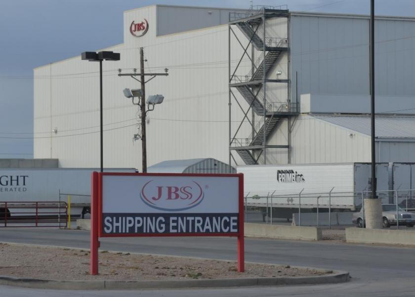After a software error at a Grand Island, Neb. packing plant caused beef carcasses to be inaccurately reported for grades and weights, JBS is a paying a fine and reimbursing producers who were impacted. The Cactus, Texas plant in the photo was also part of USDA fine for inaccurate weights earlier this year.